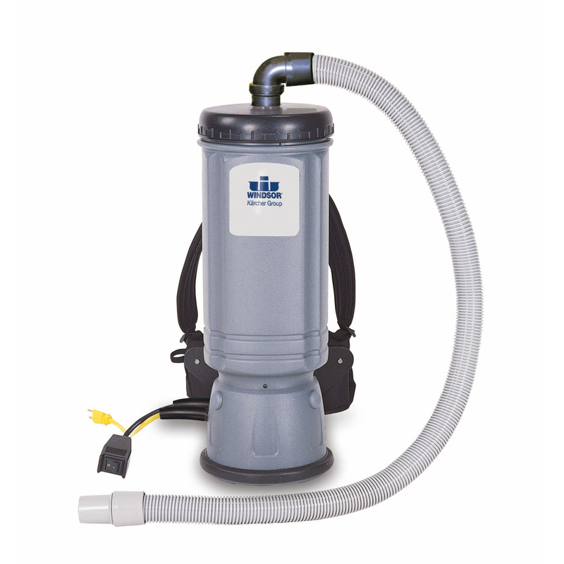 Vac Pac HEPA Back Vacuum, 6 qt. (Includes hose and tool