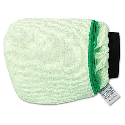 UNISAN Grip-N-Flip 10-Sided Microfiber Mitt, 7 x 6, Green