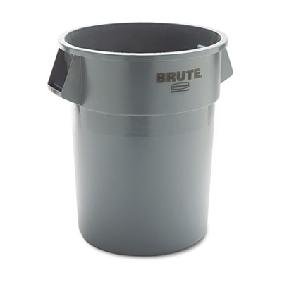 Rubbermaid Commercial Brute Refuse Container, Round,