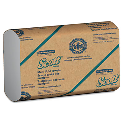 KIMBERLY-CLARK PROFESSIONAL* SCOTT Multifold Paper Towels,