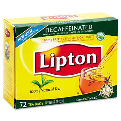 Lipton Tea Bags, Decaffeinated