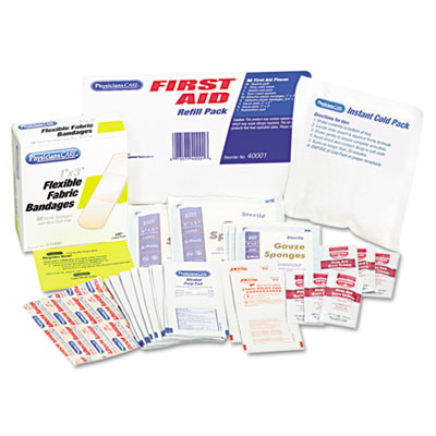 PhysiciansCare First Aid Refill Pack w/Most