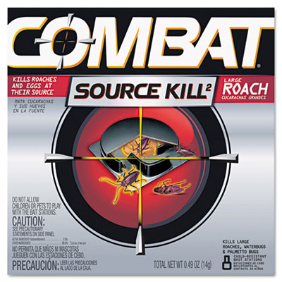 Combat Source Kill Large Roach Killing System,