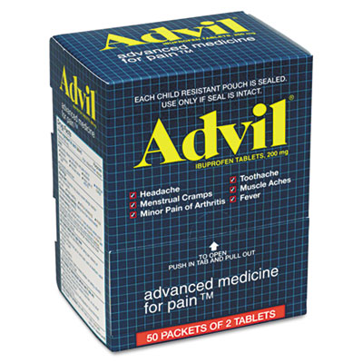 Advil Ibuprofen Tablets, Two-Pack