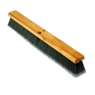 "Boardwalk Floor Brush Head, 3"" Gray Flagged"