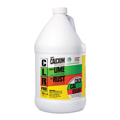 CLR PRO Calcium, Lime and Rust Remover, 128 oz Bottle