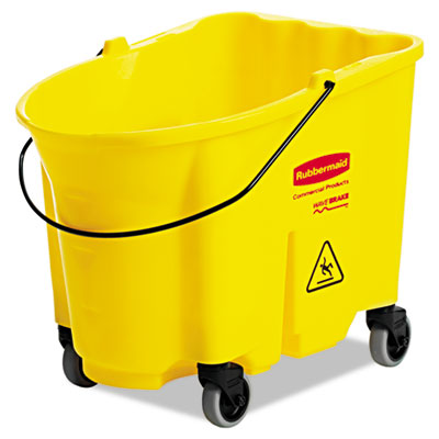 Rubbermaid Commercial WaveBrake Bucket, 8.75 gal,