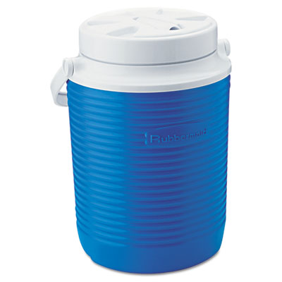 Rubbermaid Victory Jug, 1gal, 8.31dia x 10.98h, Blue/White