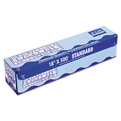 "Boardwalk Standard Aluminum Foil Roll, 12"" x 500 ft, 14"