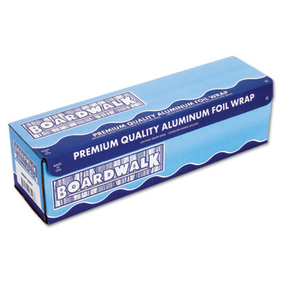 "Boardwalk Heavy-Duty Aluminum Foil Roll, 12"" x 500 ft, 20"