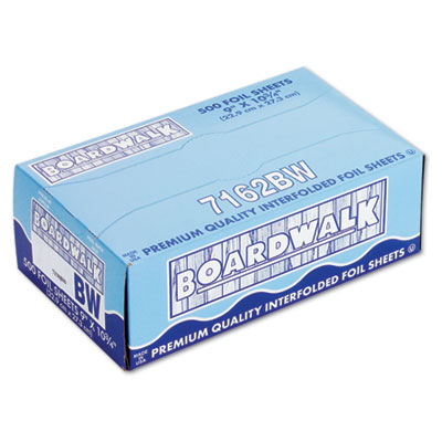 Boardwalk Pop-Up Aluminum Foil Wrap Sheets, 9 x 10 3/4,