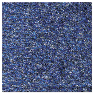 Crown Rely-On Olefin Indoor Wiper Mat, 24 x 36, Blue/Black