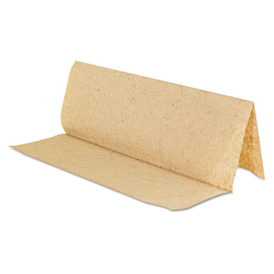 GEN Multi-Fold Paper Towels, 1-Ply, Natural, 9.2 x 9.4