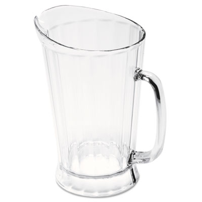 Rubbermaid Commercial Bouncer II Plastic Pitcher, 60 oz,