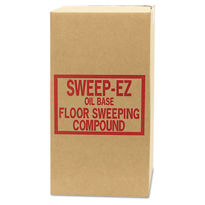 Sorb-All Oil-Based Sweeping Compound, Grit-Free, 50lbs,