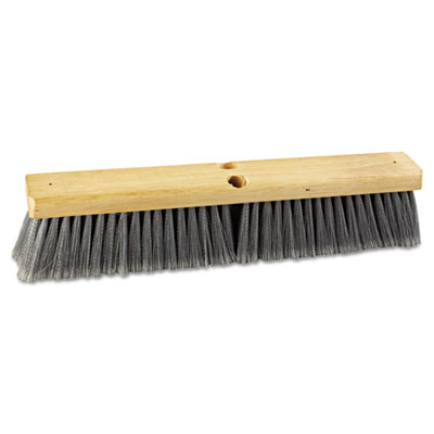 "Boardwalk Floor Brush Head, 18"" Head, Flagged"