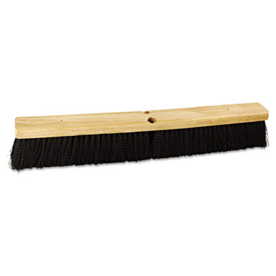 "Boardwalk Floor Brush Head, 24"" Head, Polypropylene"