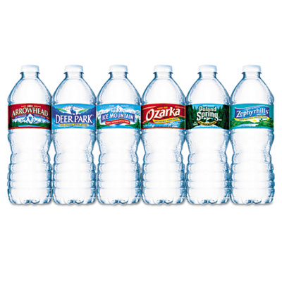 Nestle Waters Bottled Spring Water, .5 Liter, Bottles,