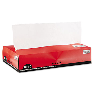 Bagcraft Papercon QF10 Interfolded Dry Wax Paper, 10