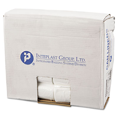 Inteplast Group Commercial Can Liners, Perforated Roll,