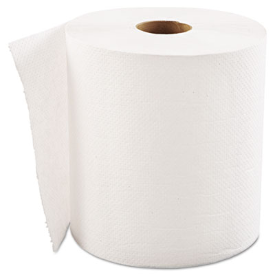 "GEN Hardwound Roll Towels, 1-Ply, White, 8"" x 700ft"