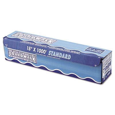"Boardwalk Standard Aluminum Foil Roll, 18"" x 1000 ft, 14"