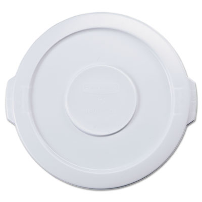 Rubbermaid Commercial Round Brute Flat Top Lid, 16 x 1,
