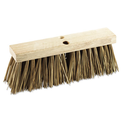 "Boardwalk Street Broom Head, 16"" Head, Palmyra Bristles"