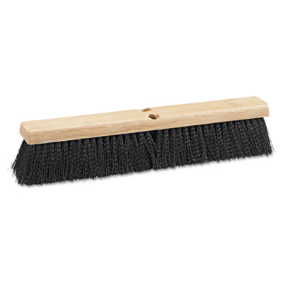 "Boardwalk Floor Brush Head, 18"" Head, Polypropylene"