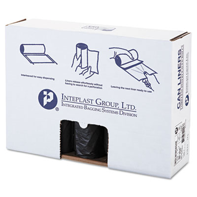 Inteplast Group Low-Density Can Liner, 38 x 58,