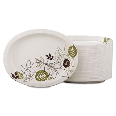 Dixie Ultra Pathways Heavyweight Oval Platters, 8