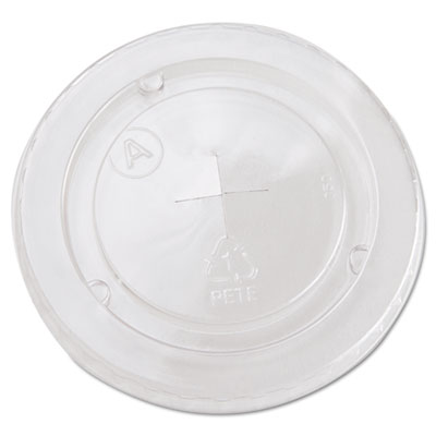 Boardwalk Cold Cup Straw-Slot Lids, Fits 20oz Cups, Clear