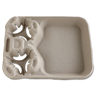 Chinet StrongHolder Molded Fiber Cup/Food Trays, 8-44oz,