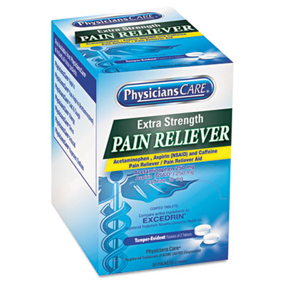 PhysiciansCare Extra-Strength Pain Reliever, Two-Pill