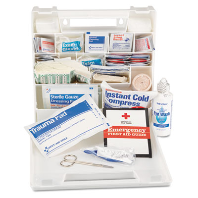 Impact First Aid Kit for 50 People, 194 Pieces, Plastic