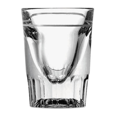 Anchor Line Whiskey Shot Glasses, 1.5oz, Clear