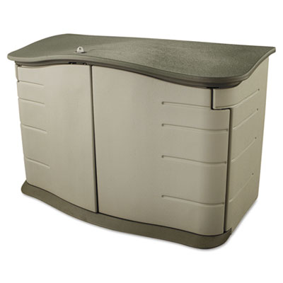 Rubbermaid Horizontal Storage Shed, 55 in x 28 in x 36 in,