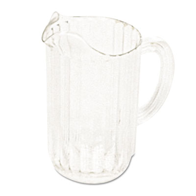 Rubbermaid Commercial Bouncer Plastic Pitcher, 54 oz,