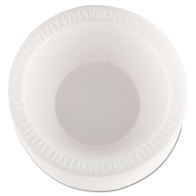 Dart Concorde Foam Bowl, 10-12 oz, White