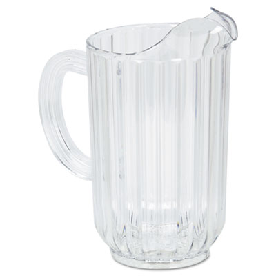 Rubbermaid Commercial Bouncer Plastic Pitcher, 48 oz,