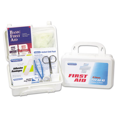 PhysiciansCare First Aid Kit for Up to 25 People, 113