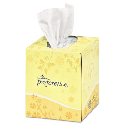Georgia Pacific Professional Cube Box Facial Tissue,