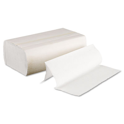Boardwalk Multifold Paper Towels, Bleached White, 9 x 9