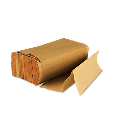 Boardwalk Multifold Paper Towels, Brown Kraft, 9 x 9