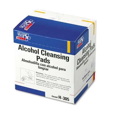 First Aid Only Alcohol Cleansing Pads, Dispenser