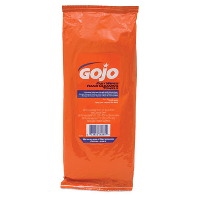 GOJO Fast Wipes Hand Cleaning Towels, White