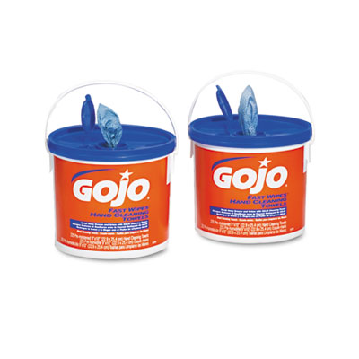 GOJO FAST WIPES Hand Cleaning Towels, Cloth, 9 x 10