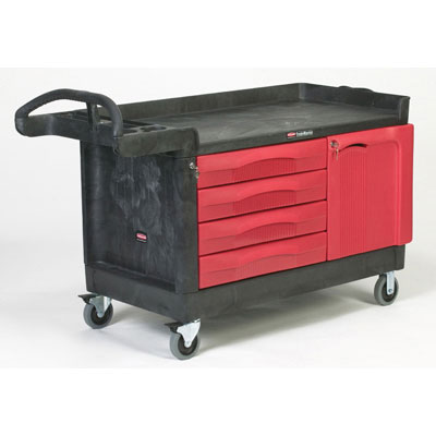 Rubbermaid Commercial TradeMaster Cart, 750-lb