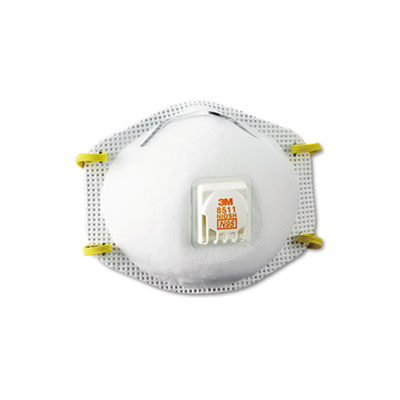 3M Particulate Respirator w/Cool Flow Exhalation Valve