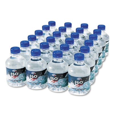 Office Snax Bottled Spring Water, 8 oz., 24